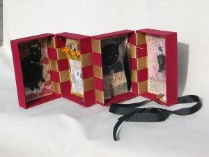 Custom Jacob's ladder style book/box.