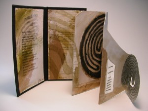 Labyrinth book - front view