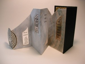 Labyrinth book - back view
