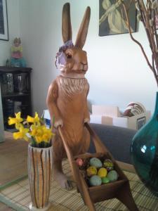 rabbit still life