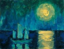 Nolde's Moonlit night