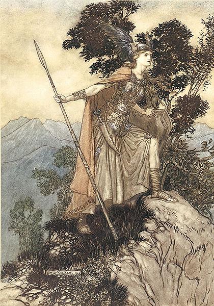 Rackam's Brunhild