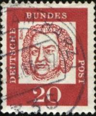 Bach Stamp