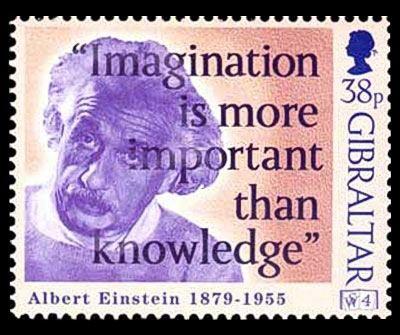 Einstein stamp