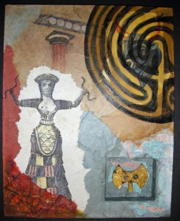 Ariadne collage
