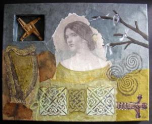 Mixed media on canvas - 2008
