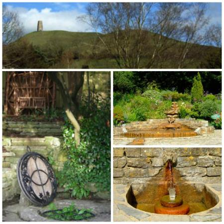 Chalice well collage