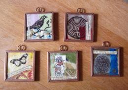 collage pendants
