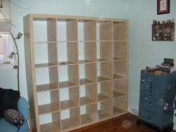empty bookcase