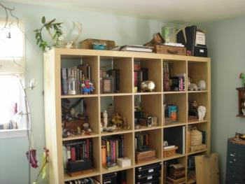 studio bookcase