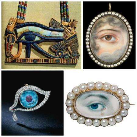 Eye inspirations collage