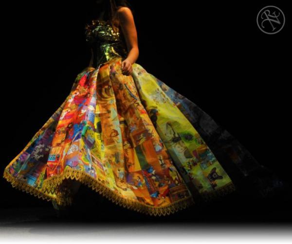Golden Book dress