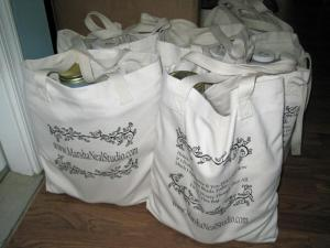 bags of glaze