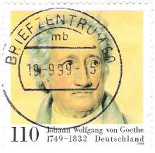 Goethe stamp