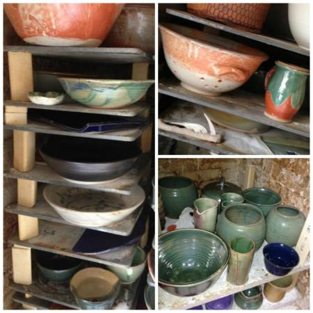 kiln pix collage