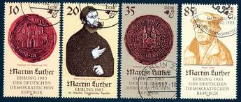 Luther stamps