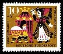 Bad fairy stamp