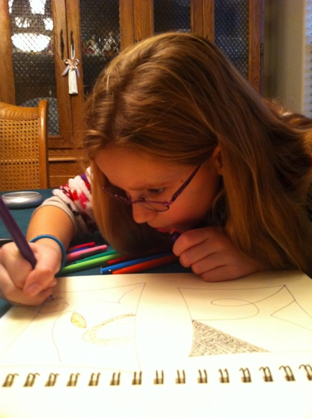 Zentangle with Francie