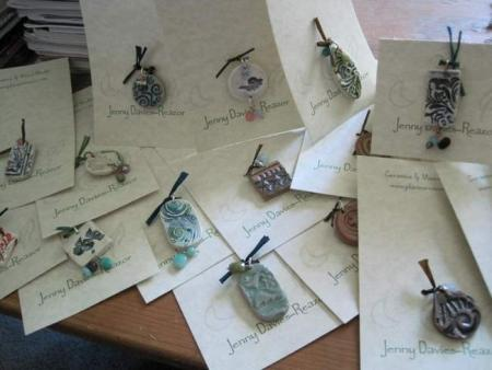 carded pendants