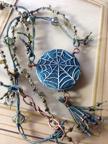 Tangled web - Athena and Arachne (back)