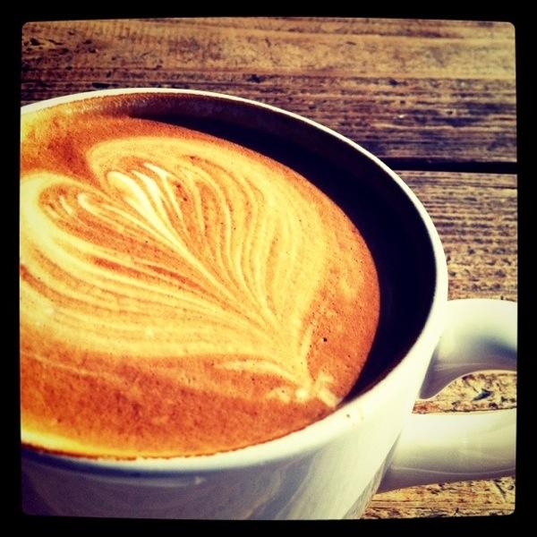 latte heart