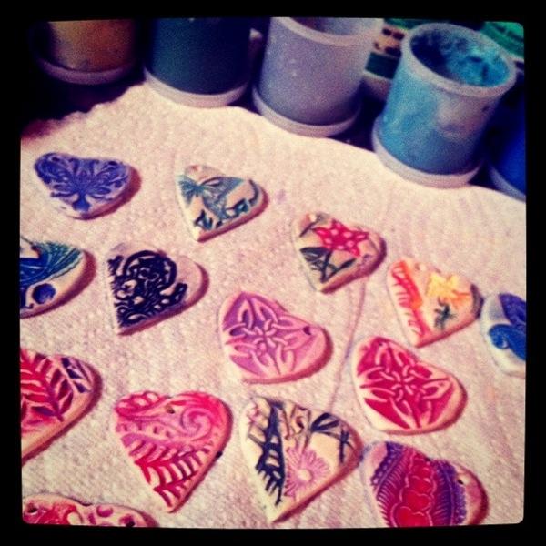 hearts glaze
