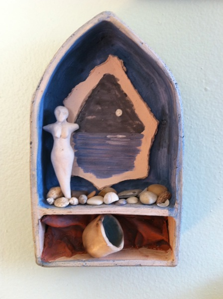 Early ceramic shrine