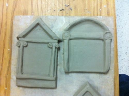 rough shrine tiles