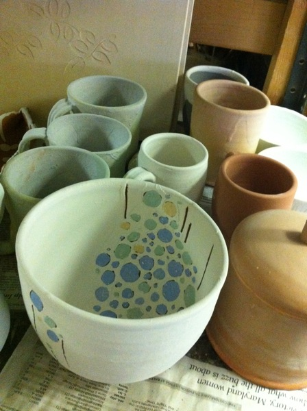 glaze shelf