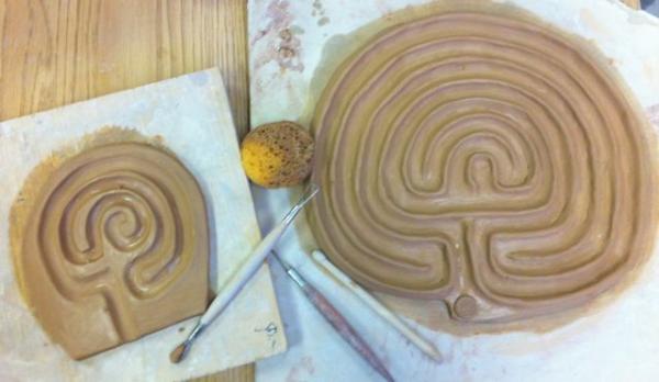 ceramic labyrinths