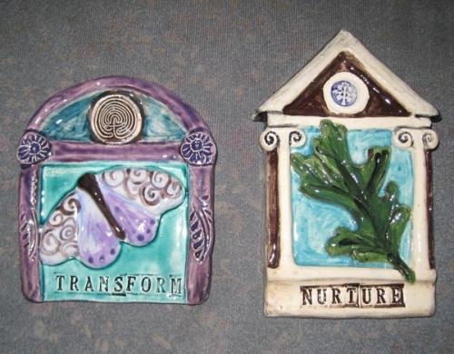 shrine tiles