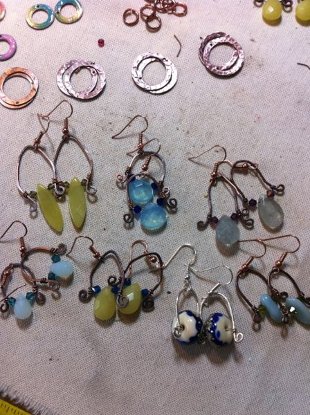 earrings galore!