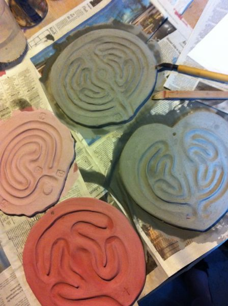 glazing labyrinths