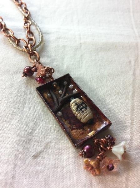 finished pendant