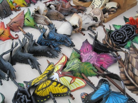 Wing and Talon barrettes