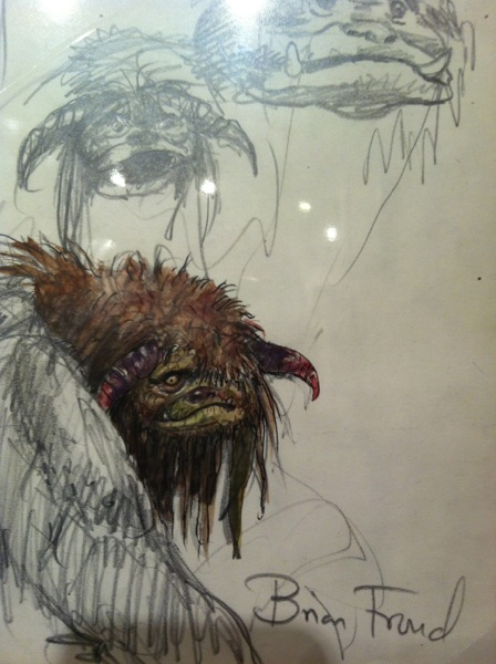 Brian's sketches of Ludo