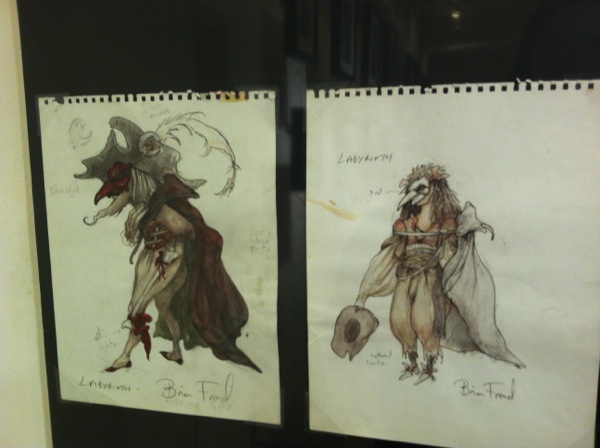 Labyrinth sketches: Brian Froud