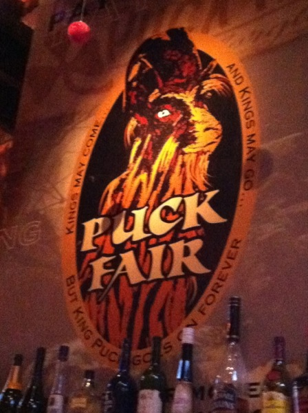 Puck Fair pub
