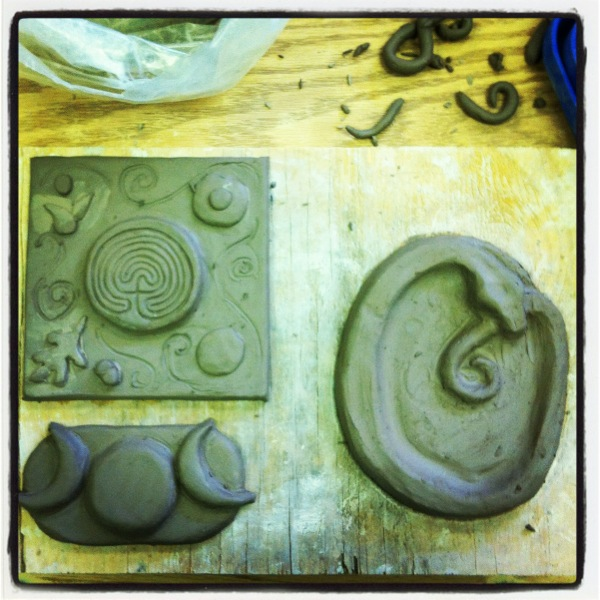 new tiles clay
