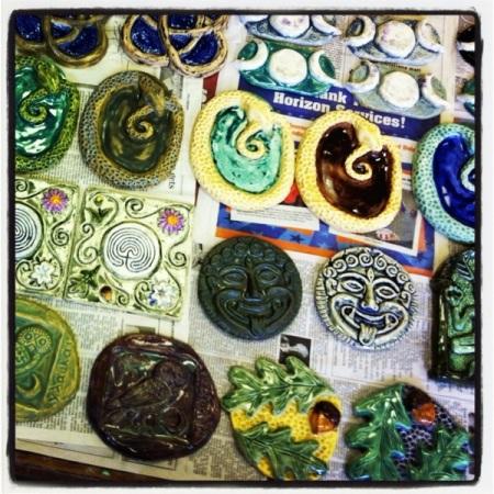 new tiles glaze