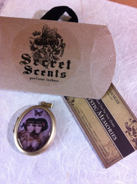 Secret Scents locket