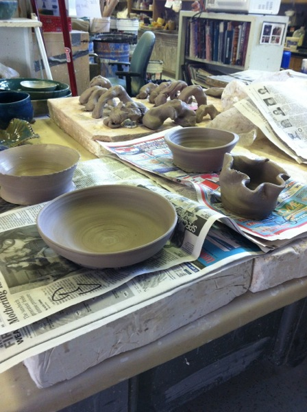 pots: keepers and recycle