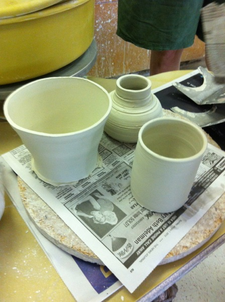 Emma's first porcelain