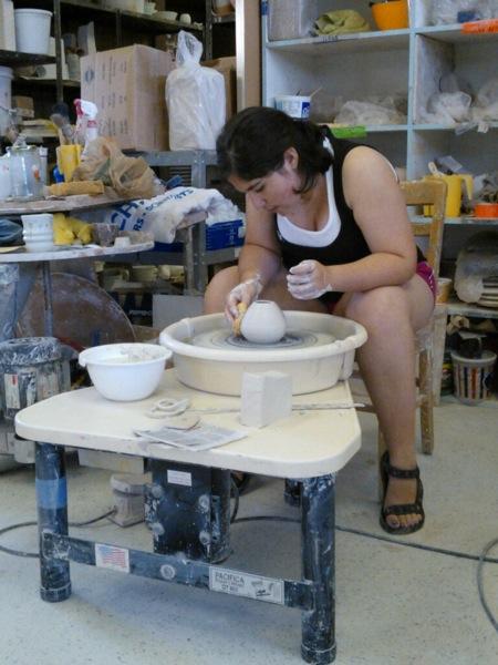 Throwing Porcelain.