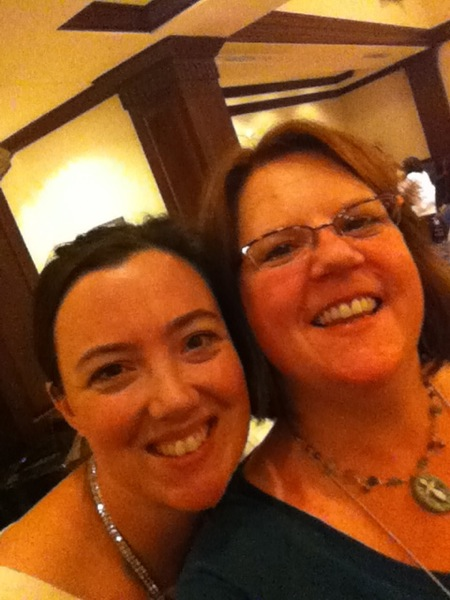 Kerry Bogert and me...
