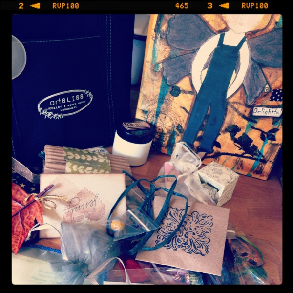 ArtBliss swag bags!