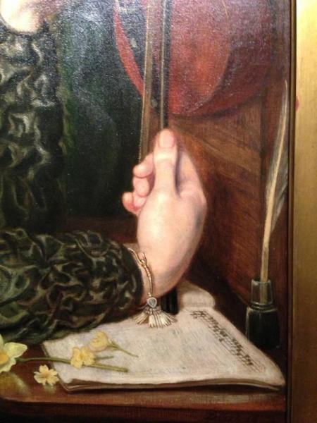 DGR's Veronica - hand detail