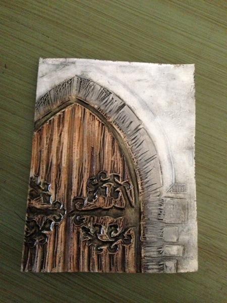 Fairy door tile