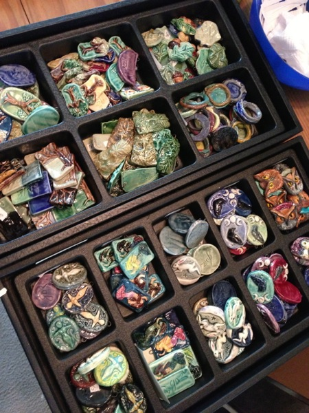 Mythic Nature pendants