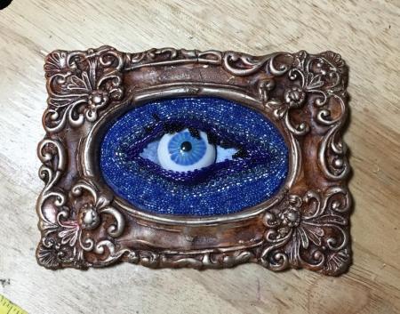 Eye beading WIP